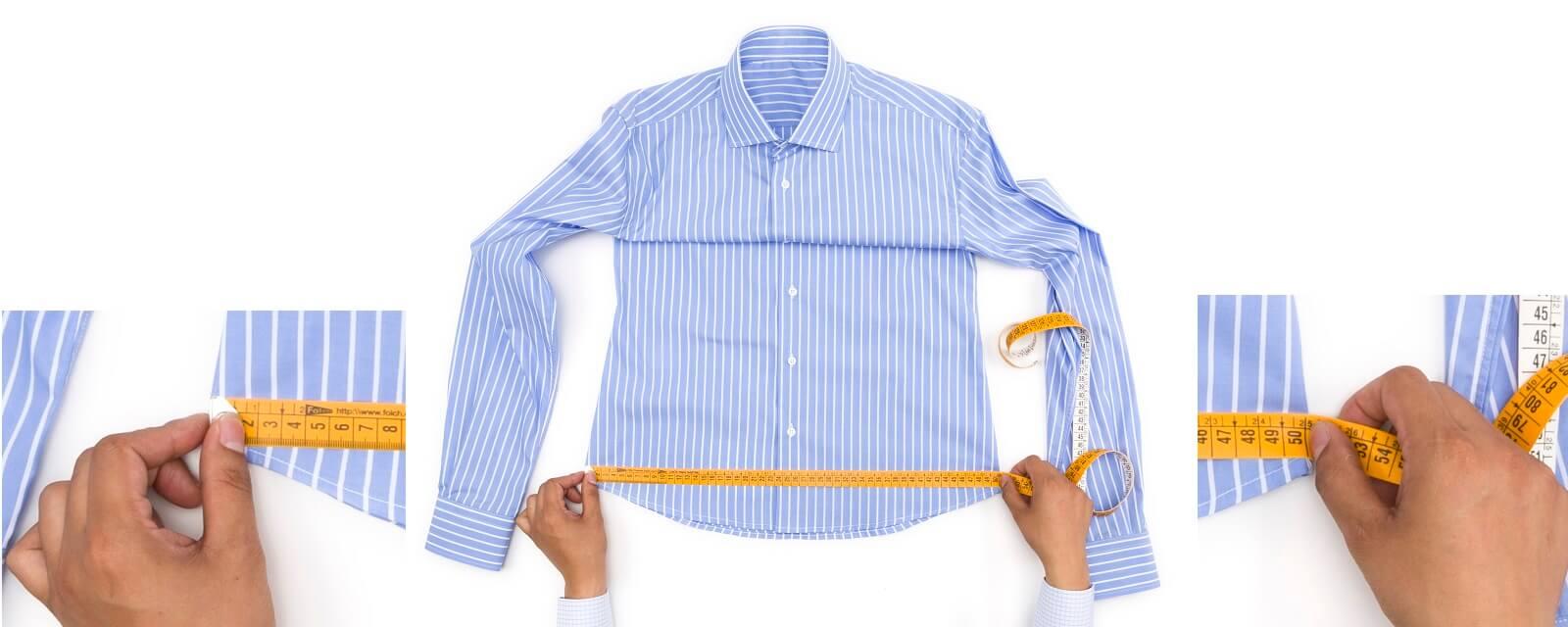 Como medir la cadera de una camisa