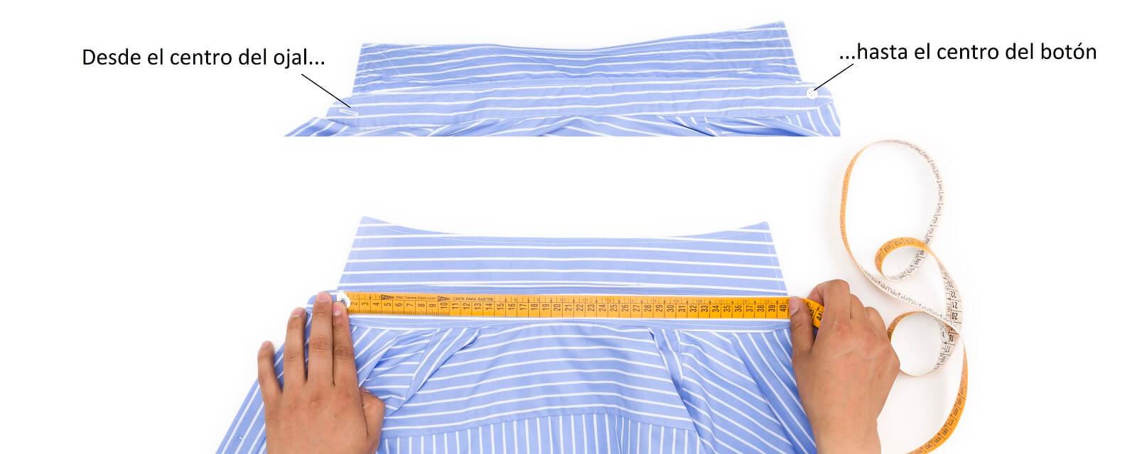 Como medir el cuello de una camisa